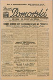 Dzień Pomorski 1934.10.19, R. 6 nr 238