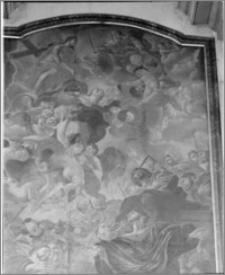 Polešovice (Czechy, Morawy). Kościół parafialny (filialny). Obraz w ołtarzu głównym