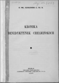 Kronika benedyktynek chełmińskich