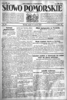 Słowo Pomorskie 1927.03.25 R.7 nr 69