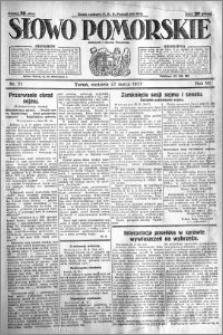 Słowo Pomorskie 1927.03.27 R.7 nr 71