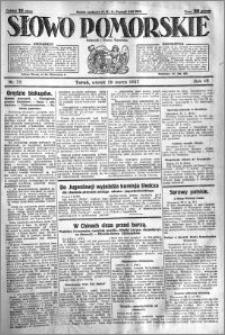 Słowo Pomorskie 1927.03.29 R.7 nr 72
