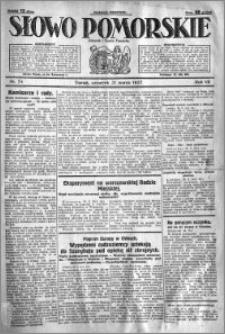 Słowo Pomorskie 1927.03.31 R.7 nr 74