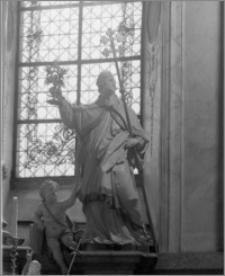 Svatý Kopeček k. Ołomuńca (Morawy, Czechy). Bazylika Mniejsza Nawiedzenia Maryi Panny. Wnętrze autorstwa Baltazara Fontany