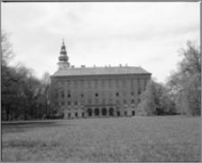 Kromieryż (Czechy, Morawy). Pałac Arcybiskupi (zamek). Elewacja zewnętrzna