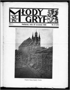 Młody Gryf 1935, R. 5, nr 39