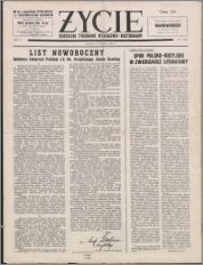 Życie : katolicki tygodnik religijno-kulturalny 1955, R. 9 nr 1 (393)