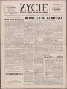 Życie : katolicki tygodnik religijno-kulturalny 1956, R. 10 nr 6 (450)