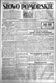 Słowo Pomorskie 1927.04.23 R.7 nr 93