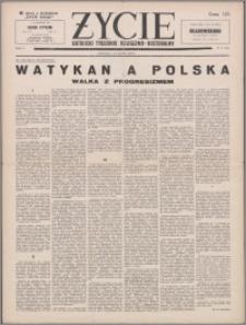Życie : katolicki tygodnik religijno-kulturalny 1956, R. 10 nr 8 (452)