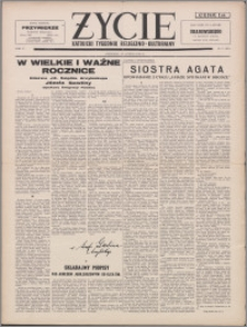 Życie : katolicki tygodnik religijno-kulturalny 1956, R. 10 nr 9 (453)