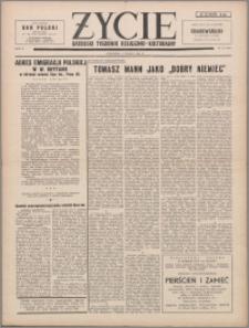 Życie : katolicki tygodnik religijno-kulturalny 1956, R. 10 nr 10 (454)