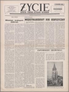 Życie : katolicki tygodnik religijno-kulturalny 1956, R. 10 nr 24 (468)