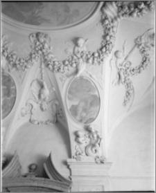 Kromieryż (Czechy, Morawy). Pałac Arcybiskupi (zamek). Sala Terrena. Dekoracje stiukowe autorstwa Baltazara Fontany