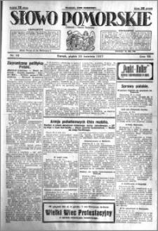 Słowo Pomorskie 1927.04.29 R.7 nr 98