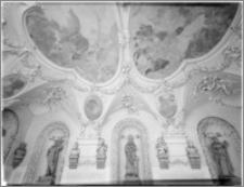 Kromieryż (Czechy, Morawy). Pałac Arcybiskupi (zamek). Sala Terrena. Sklepiene autorstwa Baltazara Fontany