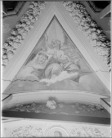 Uherské Hradiště (Morawy, Czechy). Klasztor Franciszkański. Refektarz autorstwa Baltazara Fontany