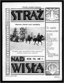 Straż nad Wisłą 1937, R. 7, nr 7