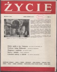 Życie : katolicki miesięcznik społeczno-kulturalny 1958, R. 12 nr 6 (555)