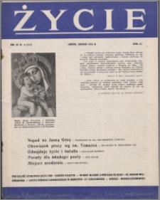 Życie : katolicki miesięcznik społeczno-kulturalny 1958, R. 12 nr 8 (557)