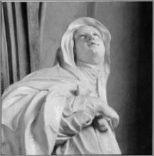 Velehrad (Morawy, Czechy). Bazylika Wniebowzięcia NMP i śś. Cyryla i Metodego. Wnętrze. Rzeźba w północnej części transeptu-fragment