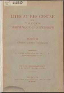Spory i sprawy pomiędzy Polakami a Zakonem Krzyżackim