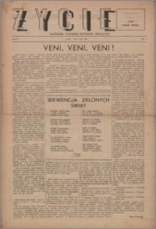 Życie : katolicki tygodnik religijno-społeczny 1947, R. 1 nr 2