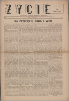 Życie : katolicki tygodnik religijno-społeczny 1947, R. 1 nr 3