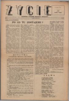 Życie : katolicki tygodnik religijno-społeczny 1947, R. 1 nr 18