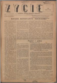 Życie : katolicki tygodnik religijno-społeczny 1947, R. 1 nr 19