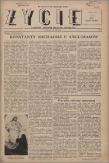Życie : katolicki tygodnik religijno-społeczny 1947, R. 1 nr 22