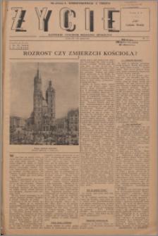 Życie : katolicki tygodnik religijno-społeczny 1947, R. 1 nr 23