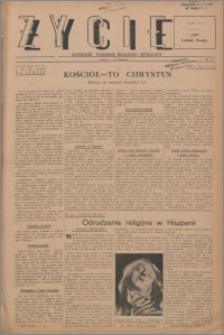 Życie : katolicki tygodnik religijno-społeczny 1947, R. 1 nr 25