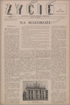 Życie : katolicki tygodnik religijno-społeczny 1947, R. 1 nr 28
