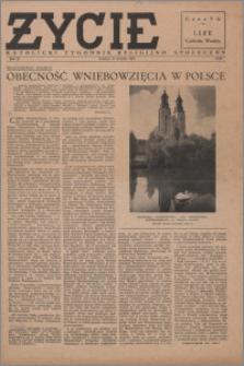 Życie : katolicki tygodnik religijno-społeczny 1948, R. 2 nr 27 (60)