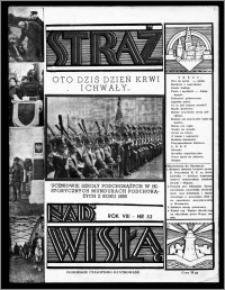 Straż nad Wisłą 1938, R. 8, nr 32