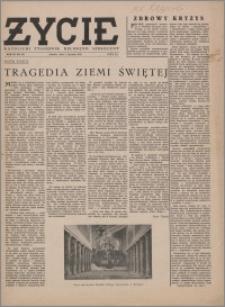 Życie : katolicki tygodnik religijno-społeczny 1949, R. 3 nr 2 (81)