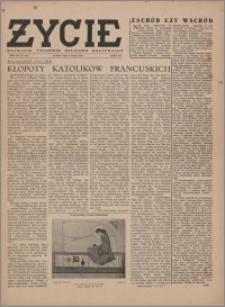Życie : katolicki tygodnik religijno-społeczny 1949, R. 3 nr 6 (85)