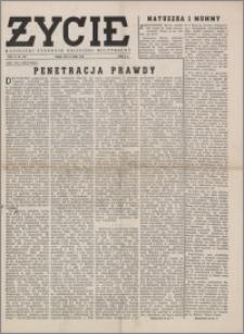 Życie : katolicki tygodnik religijno-społeczny 1949, R. 3 nr 7 (86)