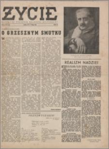 Życie : katolicki tygodnik religijno-społeczny 1949, R. 3 nr 9 (88)