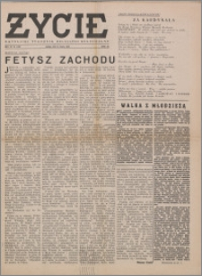 Życie : katolicki tygodnik religijno-społeczny 1949, R. 3 nr 11 (90)