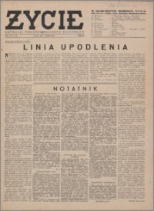 Życie : katolicki tygodnik religijno-społeczny 1949, R. 3 nr 17 (96)