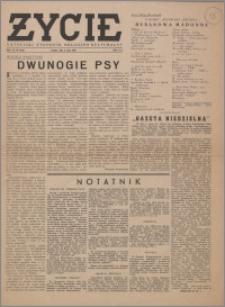 Życie : katolicki tygodnik religijno-społeczny 1949, R. 3 nr 19 (98)