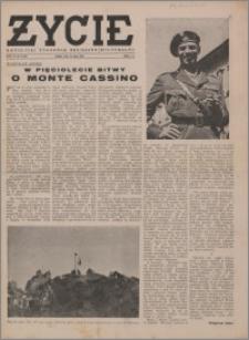 Życie : katolicki tygodnik religijno-społeczny 1949, R. 3 nr 21 (100)
