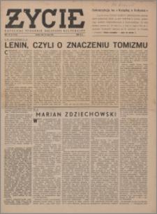 Życie : katolicki tygodnik religijno-społeczny 1949, R. 3 nr 22 (101)