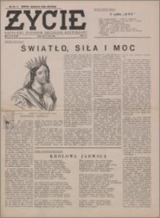 Życie : katolicki tygodnik religijno-społeczny 1949, R. 3 nr 29 (108)