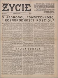 Życie : katolicki tygodnik religijno-społeczny 1949, R. 3 nr 34 (113)