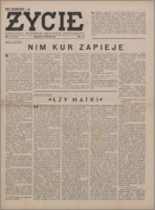 Życie : katolicki tygodnik religijno-społeczny 1949, R. 3 nr 42 (121)