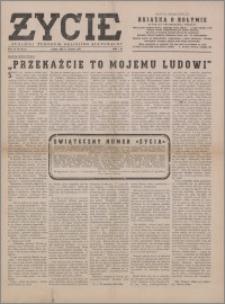Życie : katolicki tygodnik religijno-społeczny 1949, R. 3 nr 48 (127)