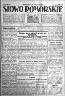 Słowo Pomorskie 1927.07.03 R.7 nr 149